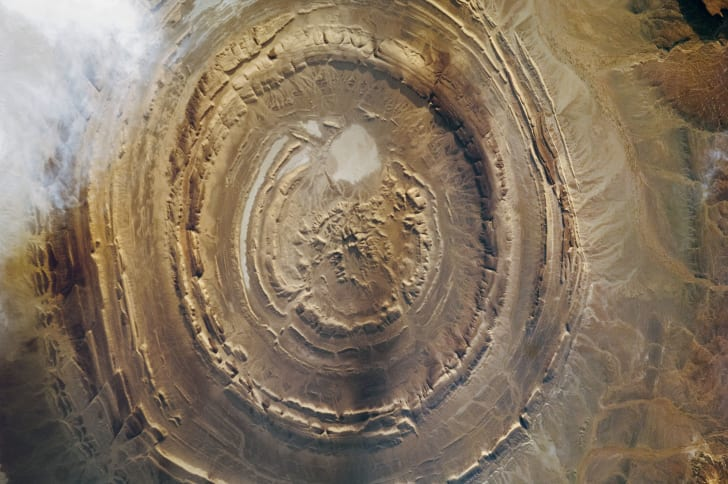 The Richat Structure, a.k.a. the Eye of the Sahara