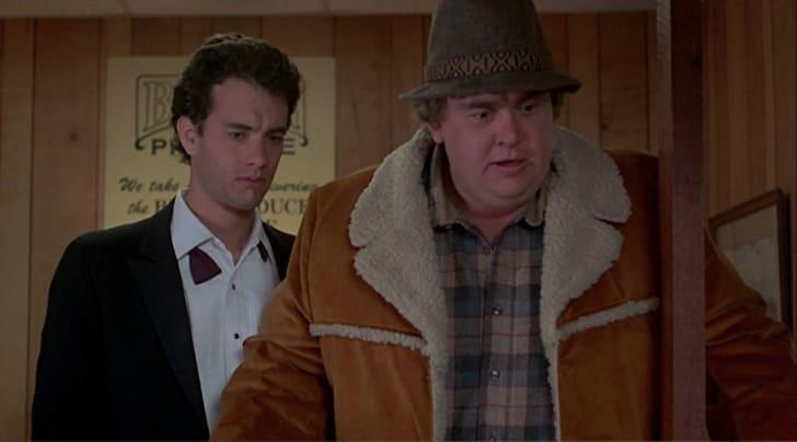 Tom Hanks and John Candy in Splash (1984)