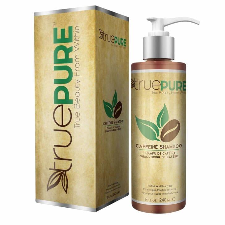 Truepure caffeine soap