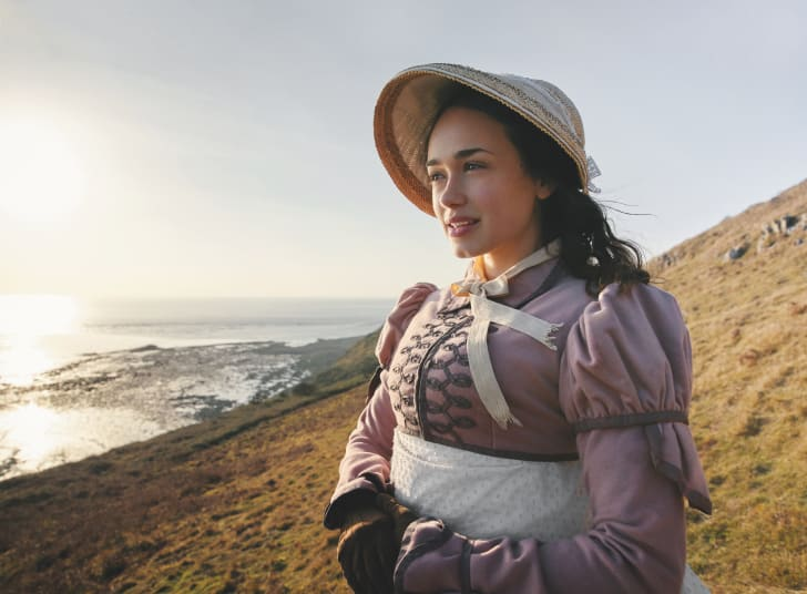 Rose Williams as Charlotte Heywood in Masterpiece's 'Sanditon' (2019)