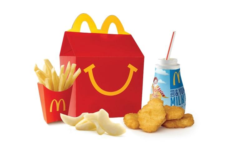 A McDonald's Happy Meal