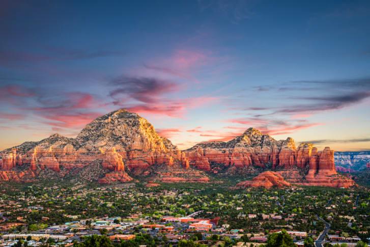 A photo of Sedona, Arizona