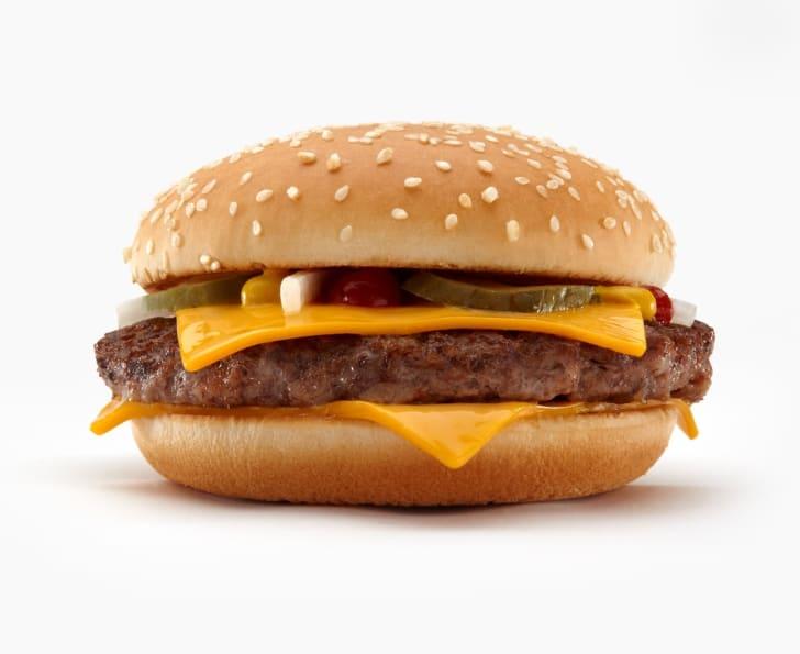 A McDonald's Quarter Pounder