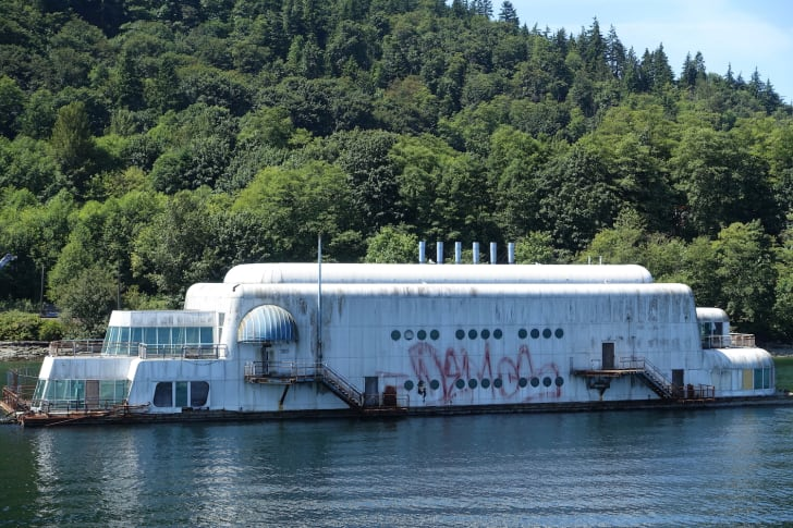 McBarge (Friendship 500) - Burrard Inlet, near Vancouver, British Columbia, Canada