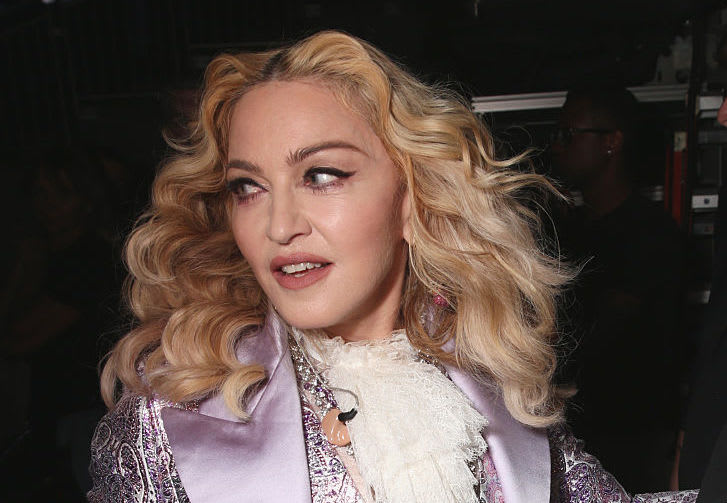 Singer Madonna attends the 2016 Billboard Music Awards at T-Mobile Arena on May 22, 2016 in Las Vegas, Nevada