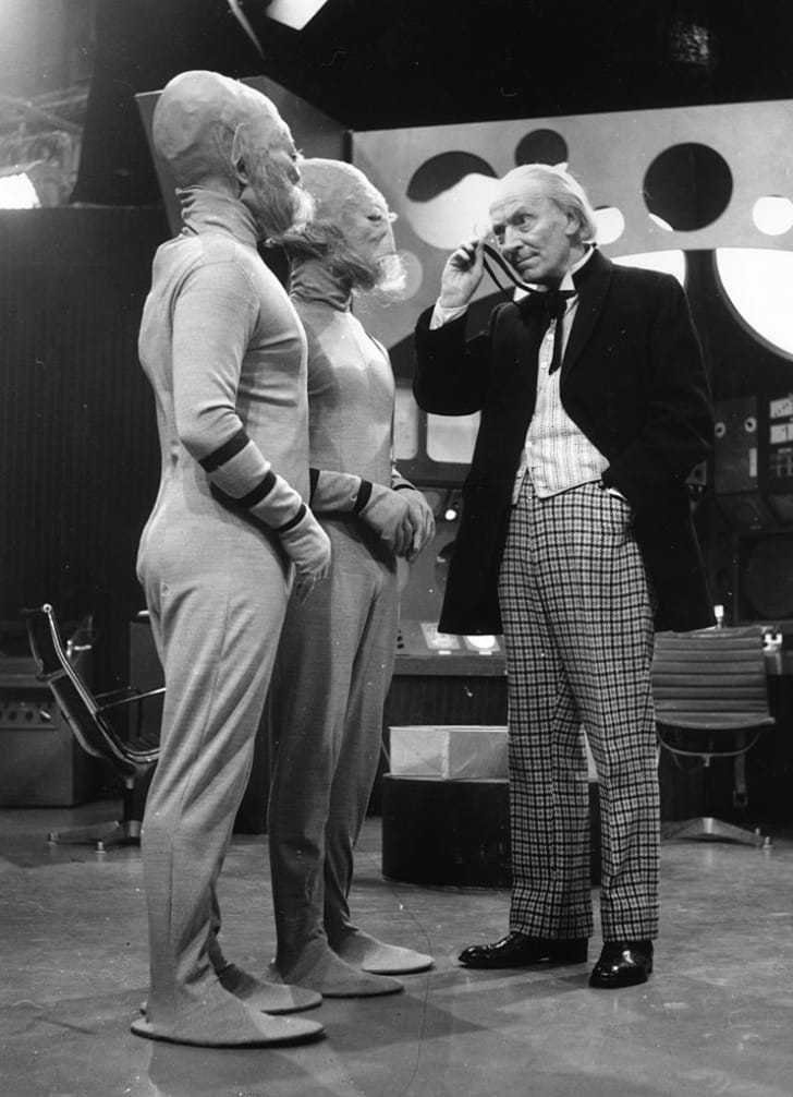 William Hartnell stars in 'Doctor Who' in 1964.