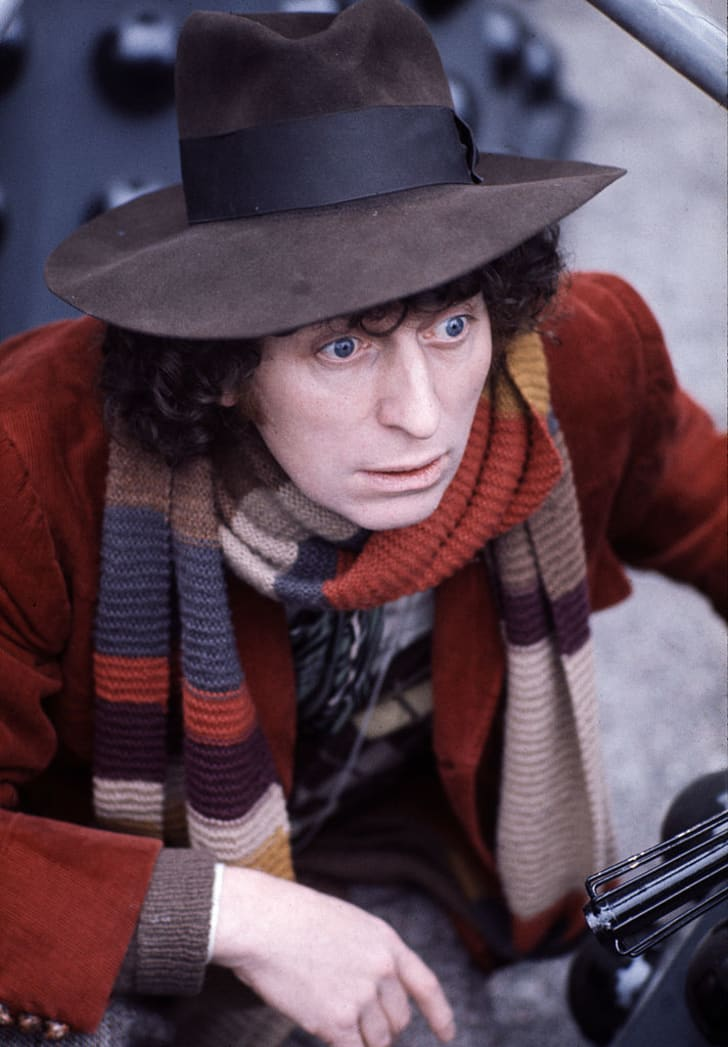 Tom Baker played The Doctor for a record seven years.