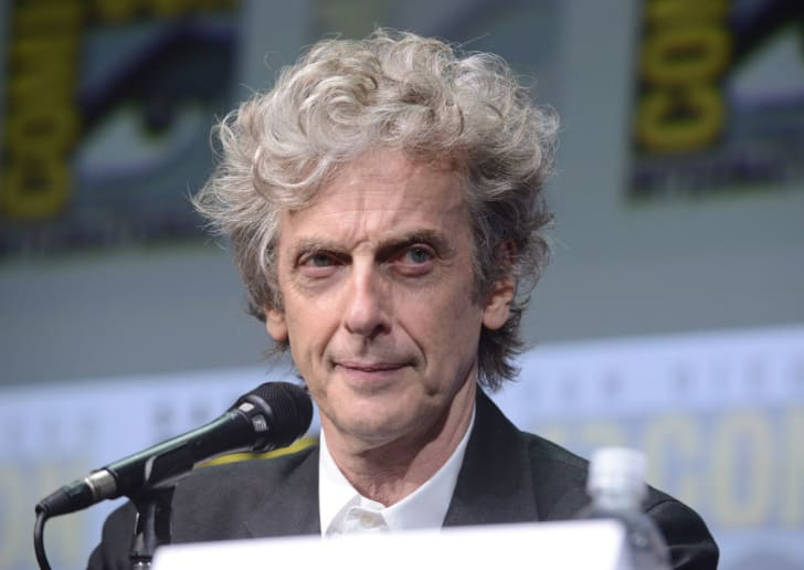 Peter Capaldi at 'Doctor Who' panel during 2017 Comic-Con International in San Diego.