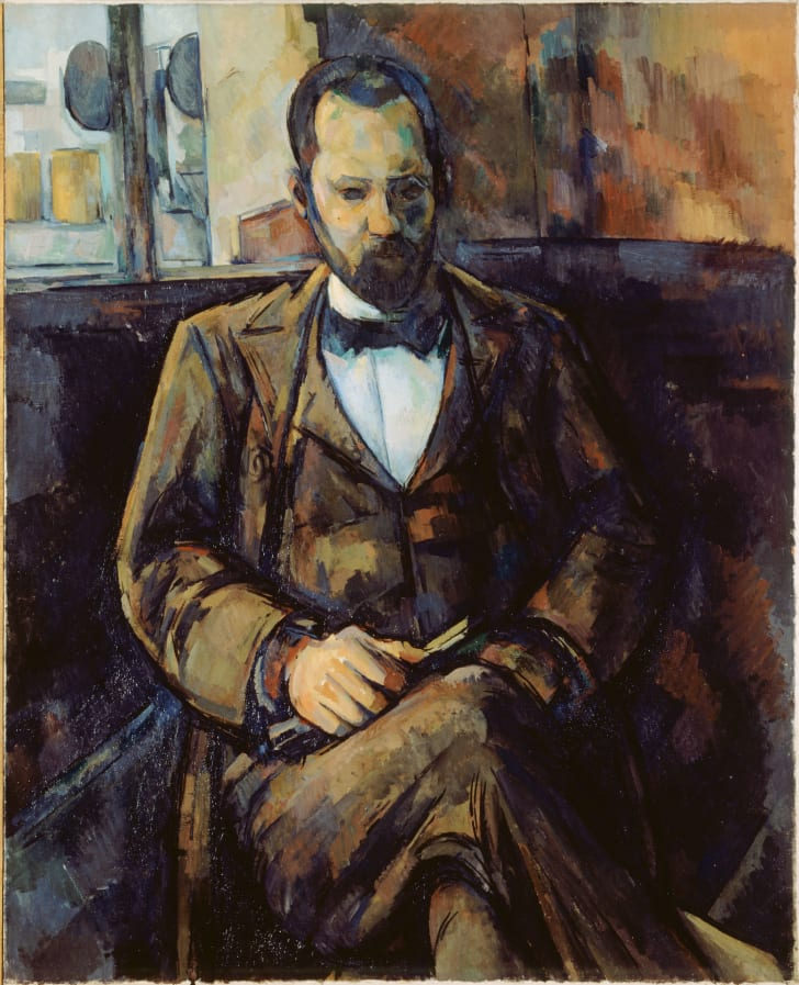 """Portrait of Ambroise Vollard"" by Paul Cézanne"