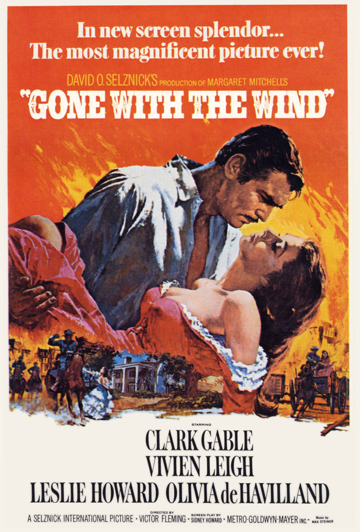 gone with the wind film cover