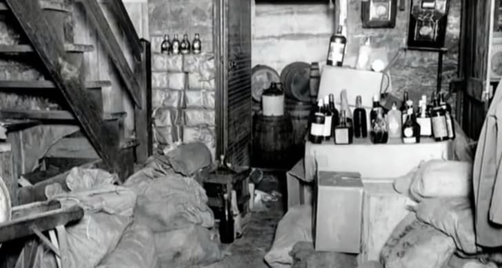 Basement Stills to Produce illegal Whiskey was a great way to augment or supplant family income.