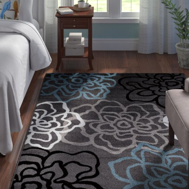 Wayfair flower rug