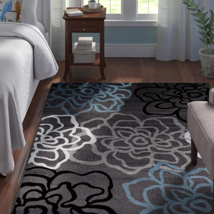 Wayfair flower rug