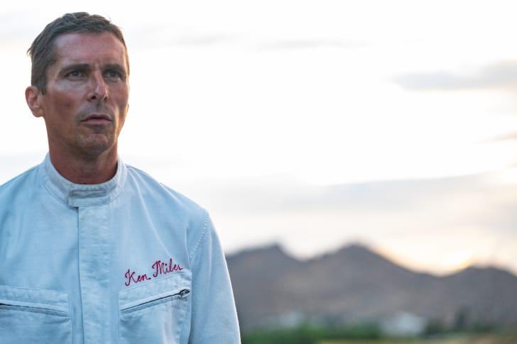 Christian Bale as Ken Miles in 'Ford v Ferrari' (2019)