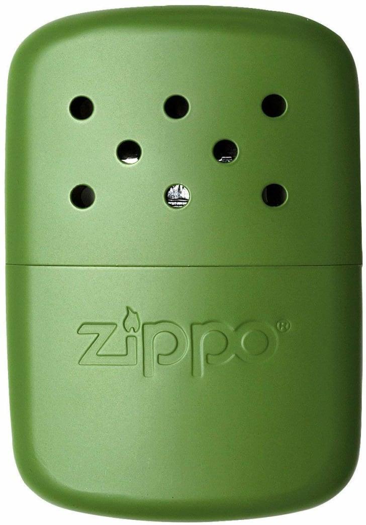 A refillable zippo hand warmer