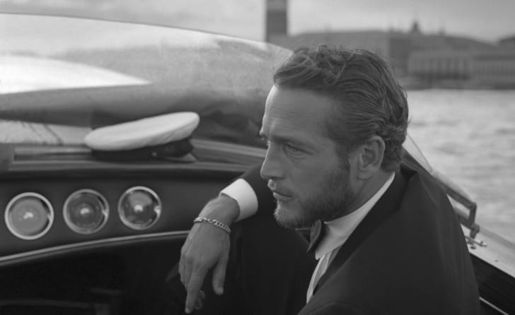 Actor Paul Newman is pictured in Venice, Italy in 1963