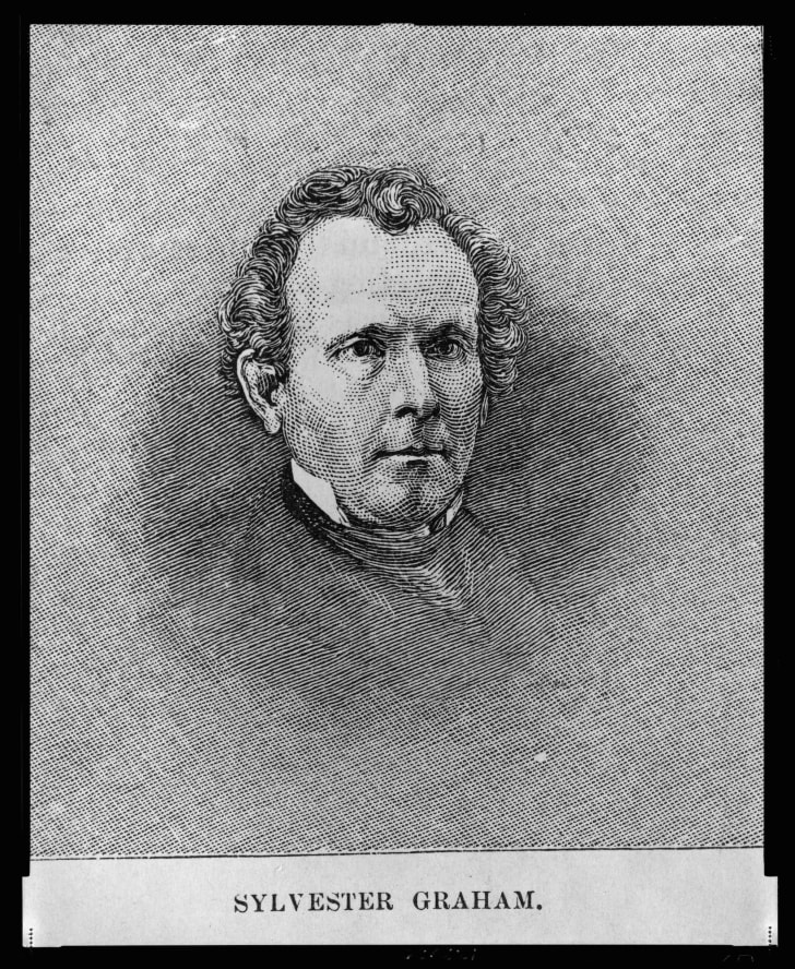 Illustration of Sylvester Graham