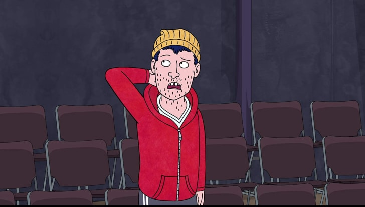 Aaron Paul as Todd in 'BoJack Horseman'