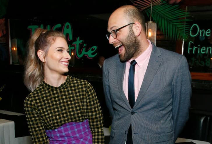 "NEW YORK, NEW YORK - MAY 01: Lisa Hanawalt and Raphael Bob-Waksberg attend the after party for Netflix's ""Tuca & Bertie"" Tribeca Film Festival Premiere at American Cut Tribeca on May 01, 2019"