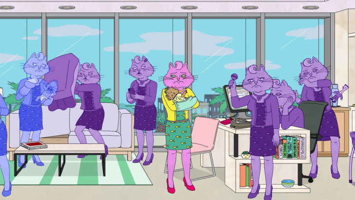 A still from 'BoJack Horseman'