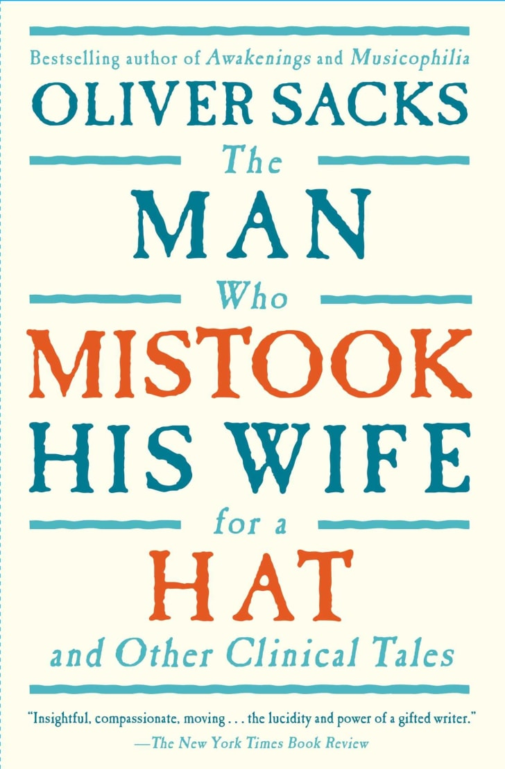 The Man Who Mistook his wife for a hat book