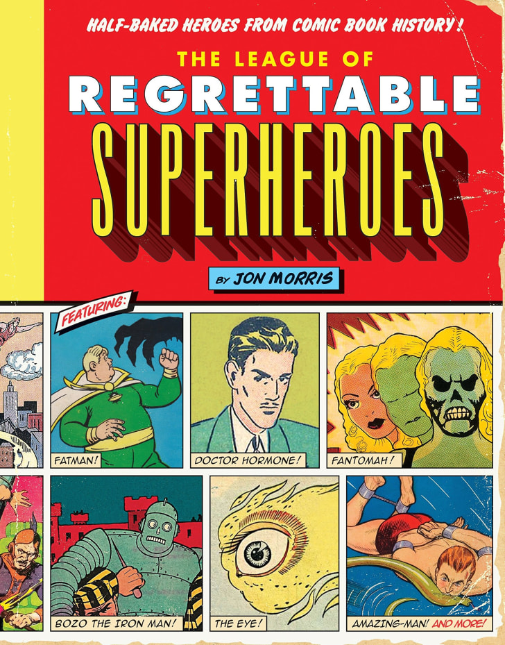 League of Regrettable Heroes book cover.