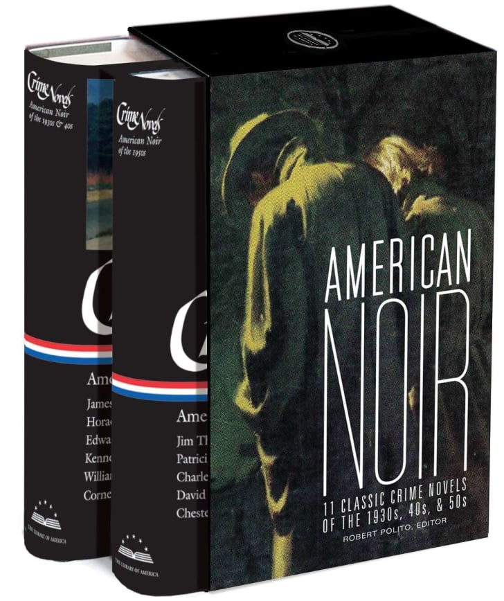Library of America's 'Noir' collection on Amazon.