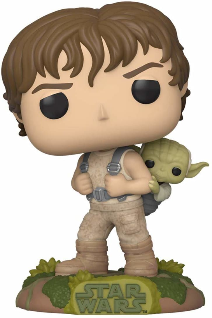 Luke Skywalker Funko doll.