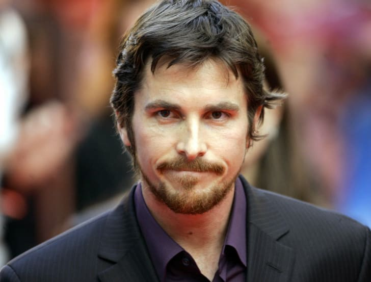 Actor Christian Bale is pictured at the June 2005 premiere of 'Batman Begins' in Berlin, Germany