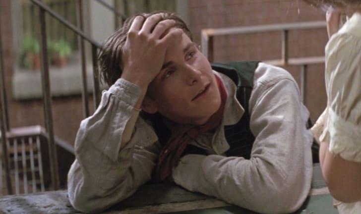 Christian Bale in 'Newsies' (1992)