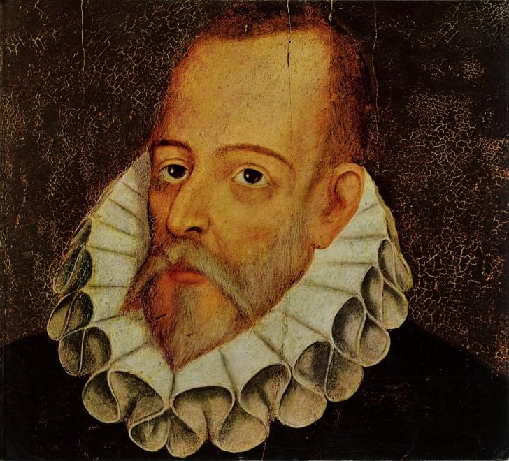 Portrait of Miguel de Cervantes Saavedra (1547-1615).