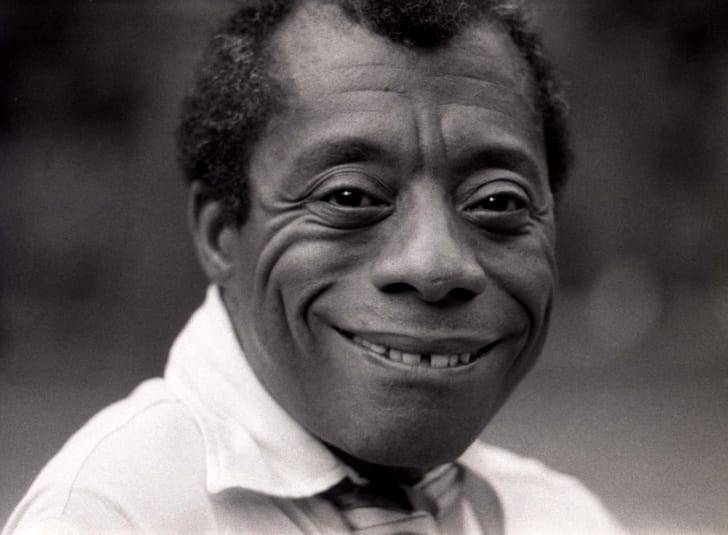 The writer James Baldwin pictured in 1969.