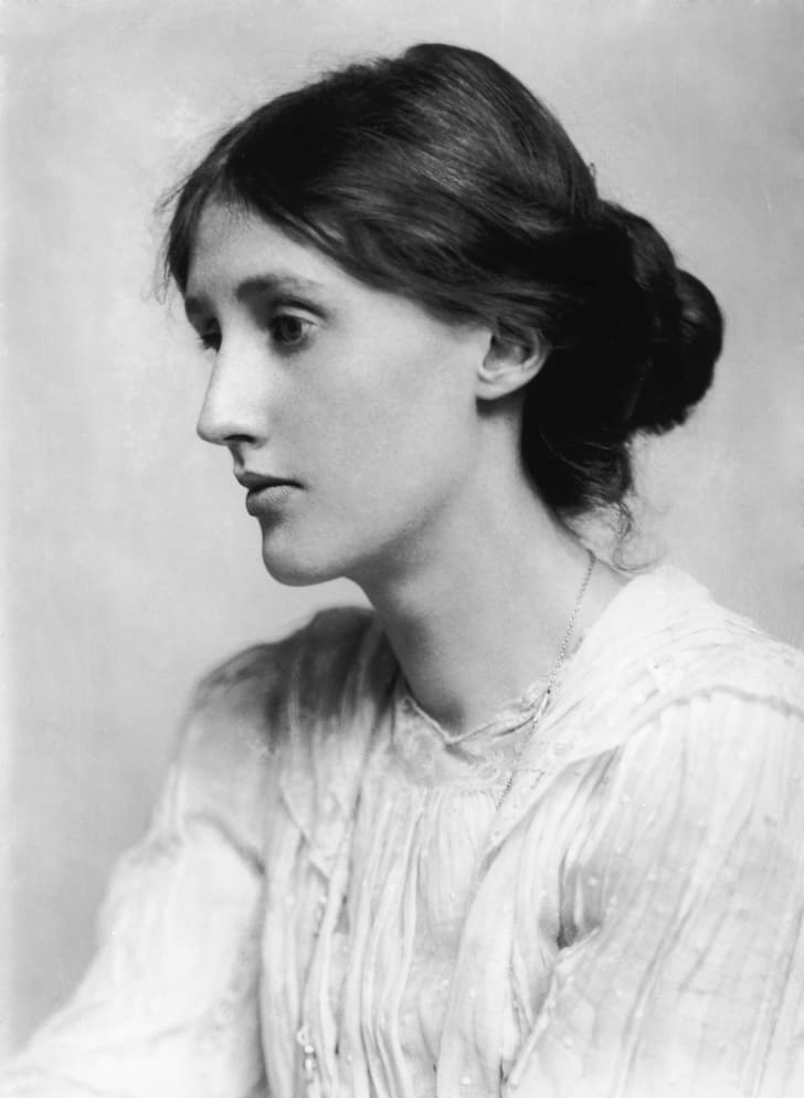 Virginia Woolf portrait.