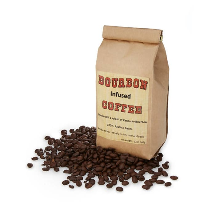 Bourbon-infused coffee
