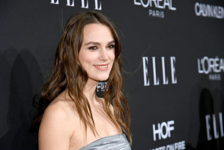 Keira Knightley attends ELLE's 25th Annual Women In Hollywood Celebration presented by L'Oreal Paris, Hearts On Fire and CALVIN KLEIN at Four Seasons Hotel Los Angeles at Beverly Hills on October 15, 2018 in Los Angeles, California