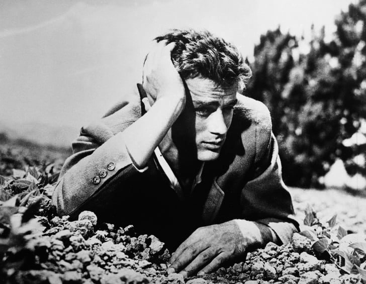 Actor James Dean is pictured circa the 1950s