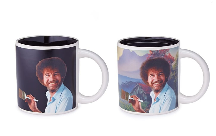 Bob Ross Coffee Mugs