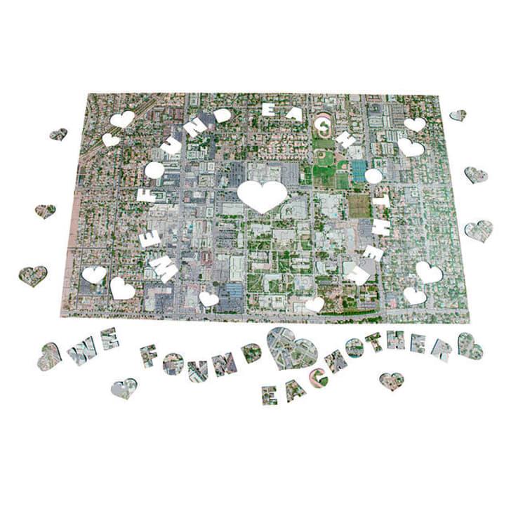 A customizable puzzle