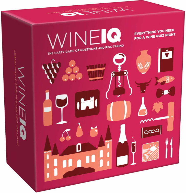 Wine IQ trivia game