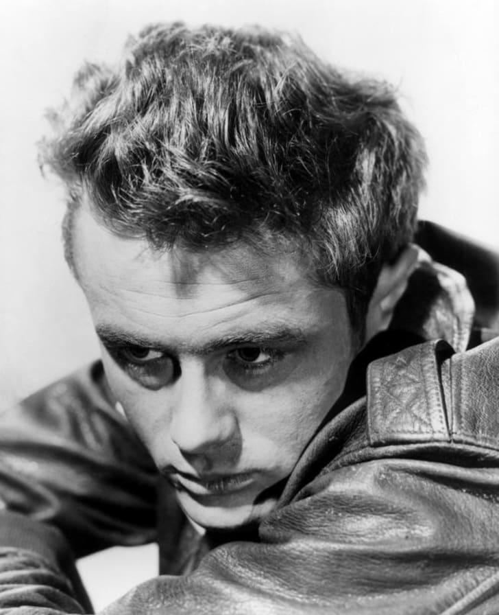 A photo of James Dean circa 1955