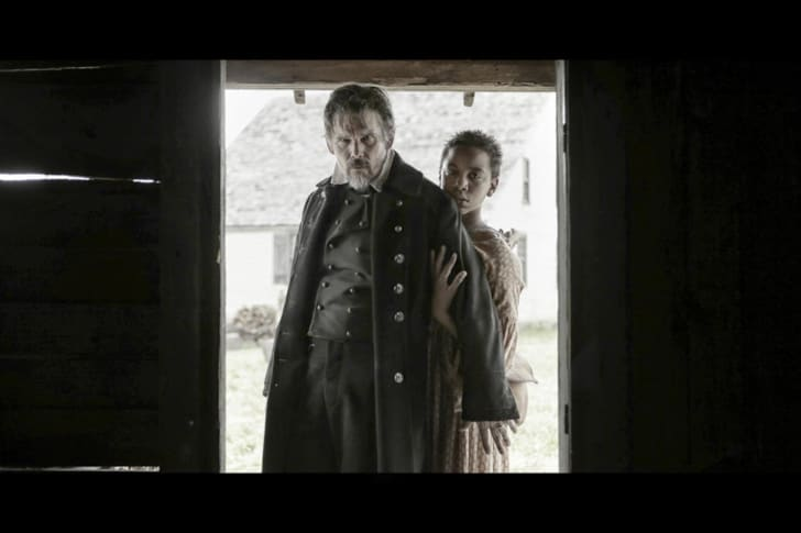Joshua Caleb Johnson as Onion and Ethan Hawke as John Brown in THE GOOD LORD BIRD
