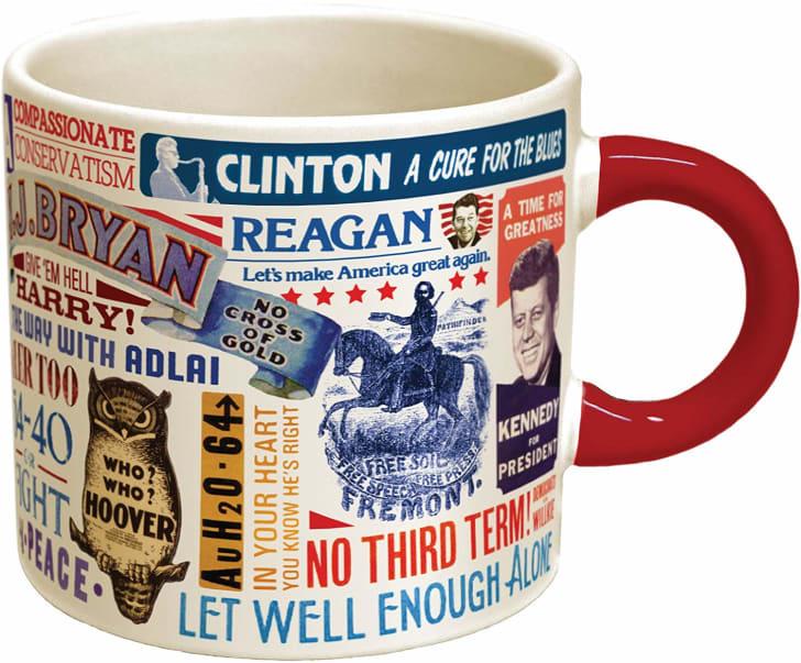 Presidential Slogan Mug.