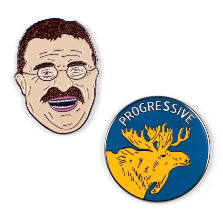 Theodore Roosevelt Pins on Amazon.
