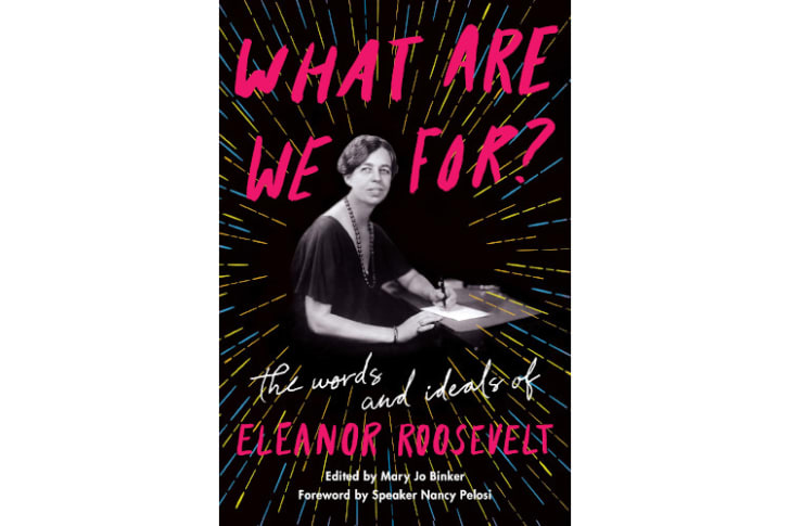 What Are We For Eleanor Roosevelt book on Amazon.