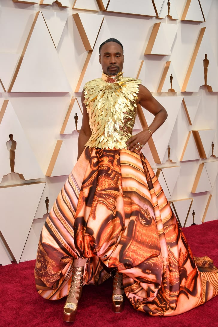 billy porter oscars 2020 dress