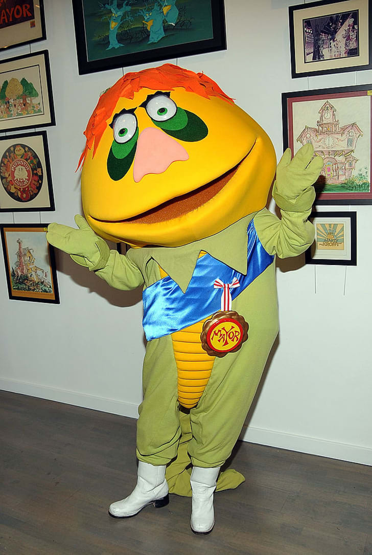 """H.R. Pufnstuf attends """"Sid & Marty Kroft's Saturday Morning Hits"""" DVD release party at Every Picture Tells A Story on November 20, 2010 in Santa Monica, California"""