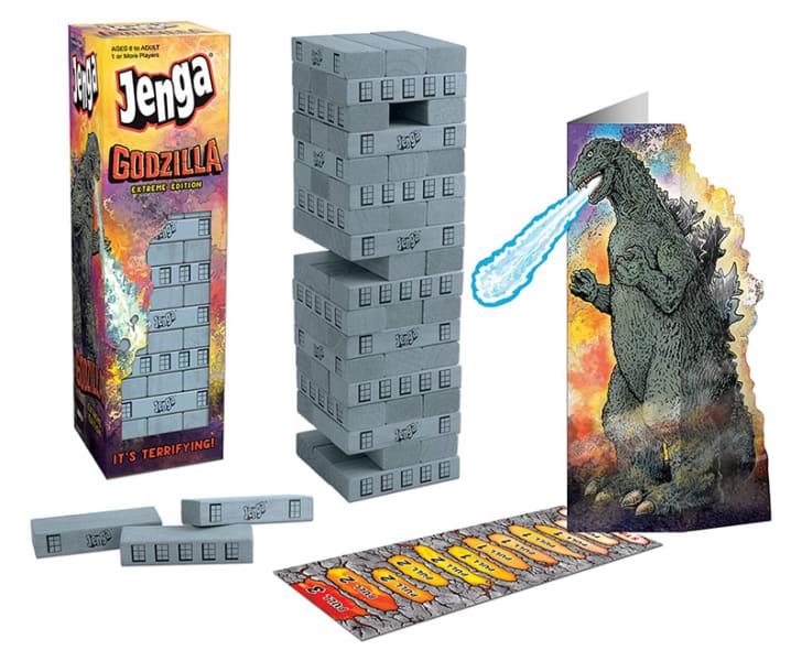 Godzilla Jenga.