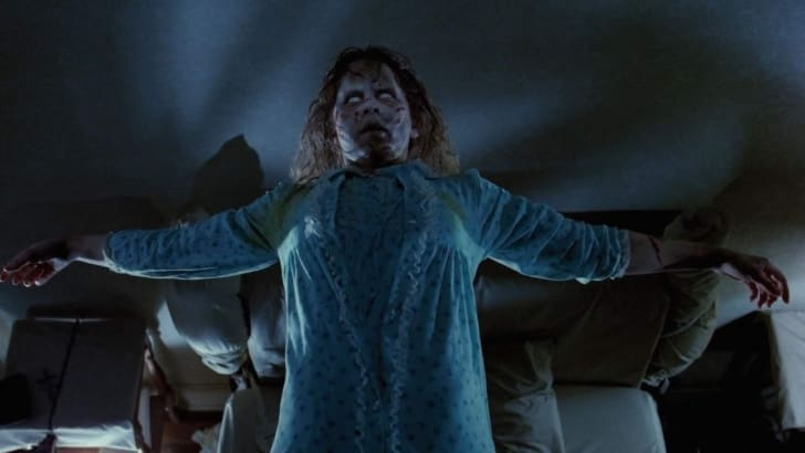 Still from The Exorcist.