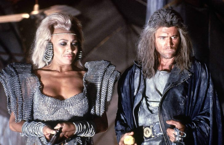 Mel Gibson and Tina Turner in Mad Max Beyond Thunderdome (1985).
