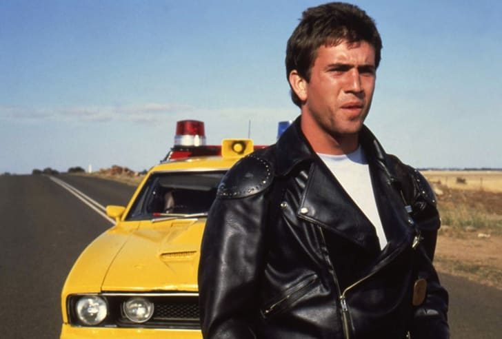 Mel Gibson in Mad Max (1979)